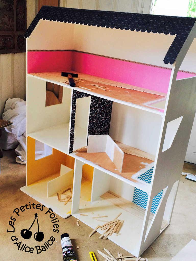 Maison De Barbie 3 La Dcoration Alice Balice
