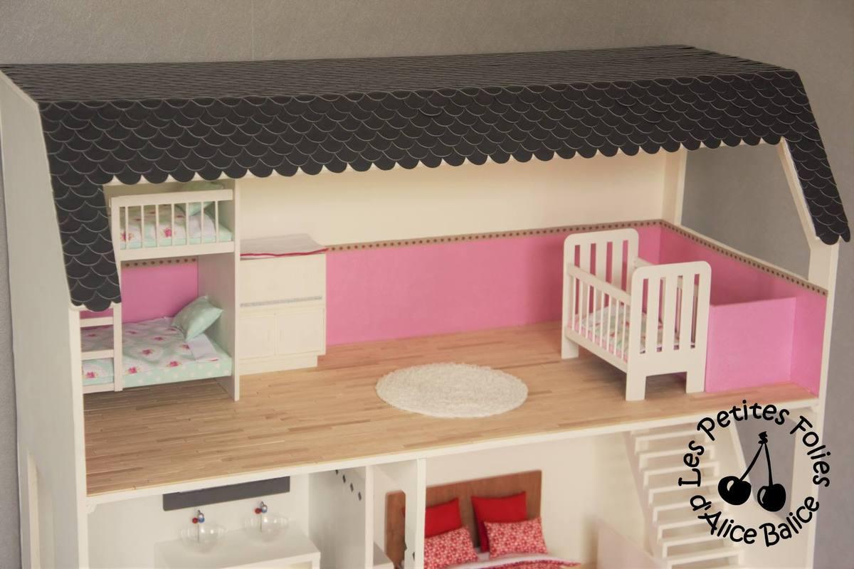 maison de barbie 6 les meubles chambres et salle de bain alice balice couture et diy loisirs creatifs