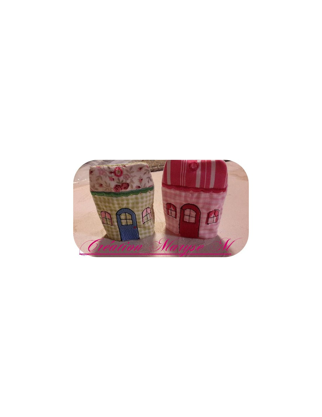 Embroidery Home Key Holder Ith