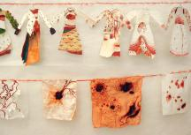 """Expositions collection de textiles""""frida kahlo"""", 2004"""