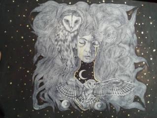 """""""le coeur de la nuit"""", Alice Heit 2018"""