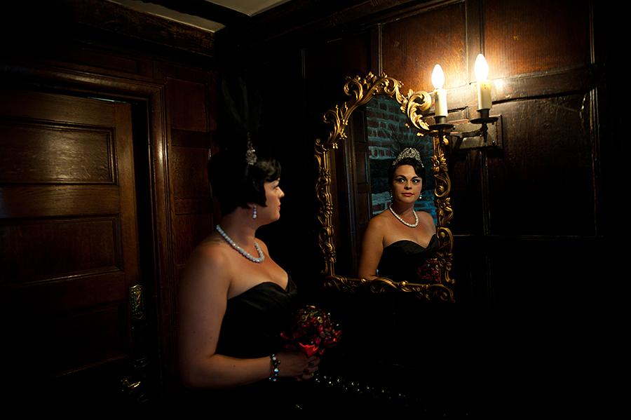 Wedding photo shoot Moulin Rouge  Alice In Weddingland