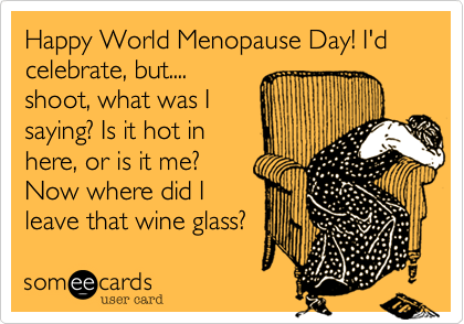 Image result for world menopause day