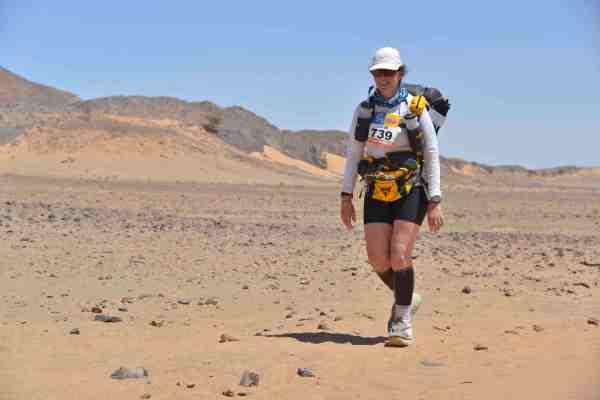 Marathon des Sables Adventurer Alice Morrison