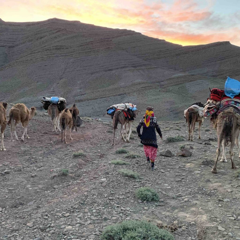Walking with nomads Morocco Adventurer Alice Morrison