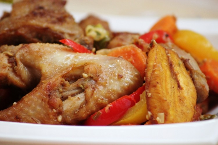 Le Poulet DG recette camerounaise  Alice Pegie Cuisine