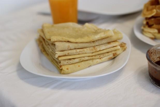 Crpes  la farine de Manioc  Alice Pegie Cuisine