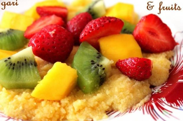 Gari aux fruits