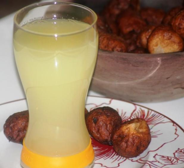 Jus de gingembre à l'ananas recette sénégalaise