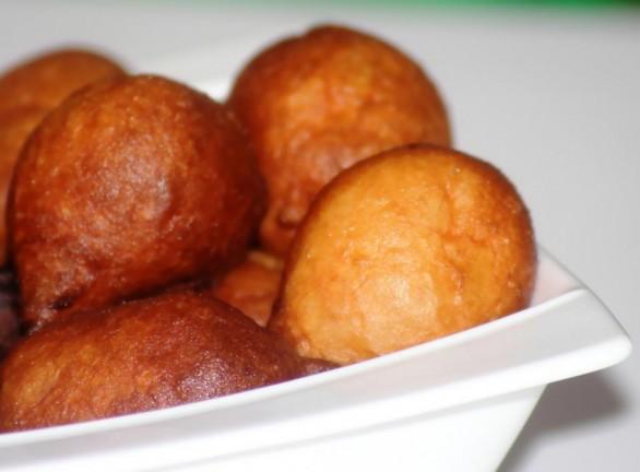 beignets de farine nigérians
