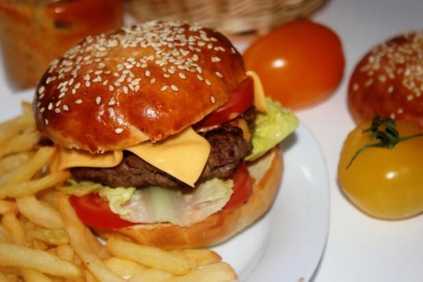 hamburgers maison et leur sauce