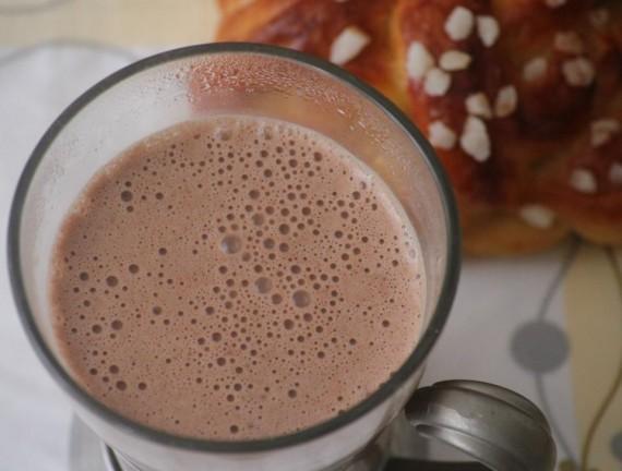 Chocolat chaud au Kinder Bueno
