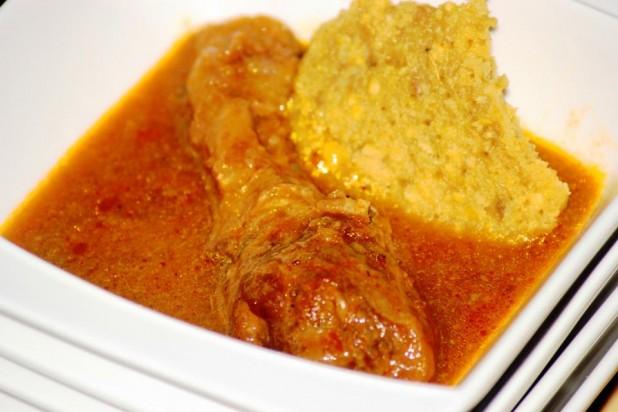 Ogbono Soup (soupe aux noyaux de mangues sauvages)