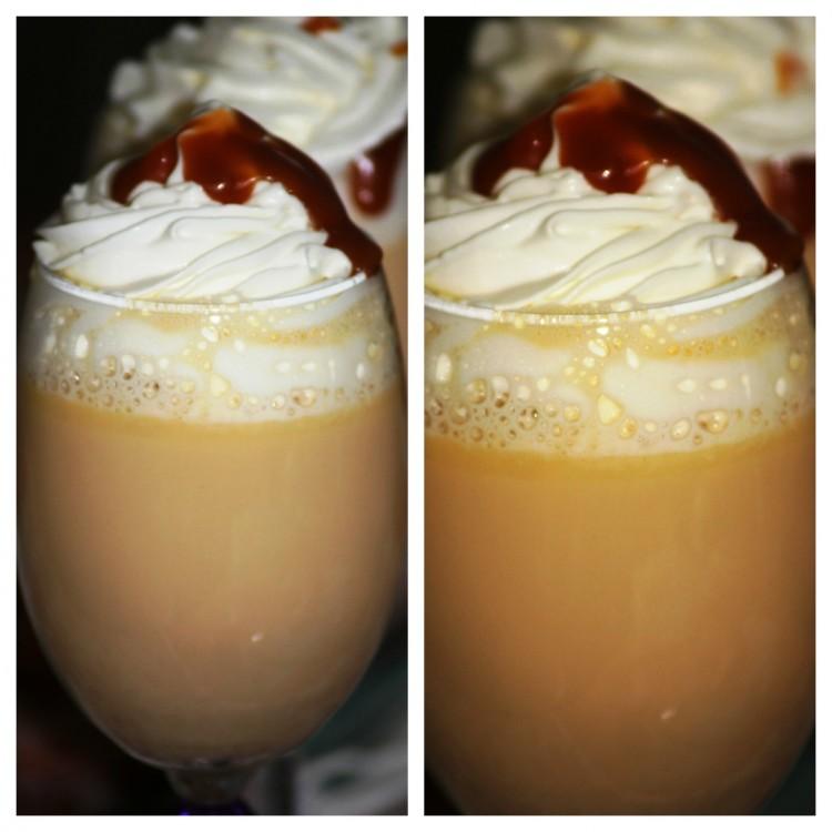 Chocolat chaud au chocolat blanc et caramel (4)