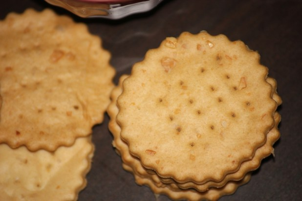 water crackers aux graines de courges