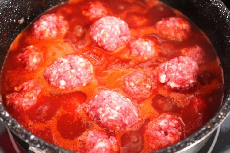 boulettes de viande à la tomate (3)