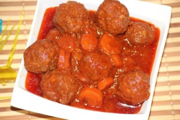 boulettes de viande à la tomate (6)