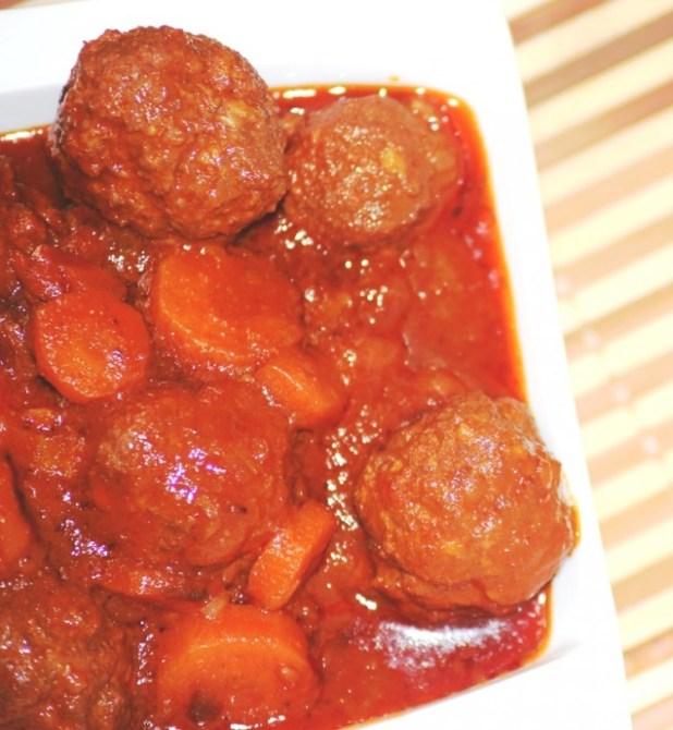 boulettes de viande à la tomate (7)
