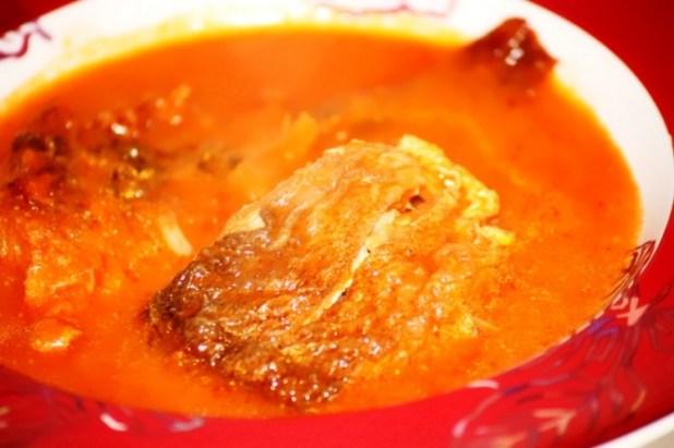 poisson sauce njansan