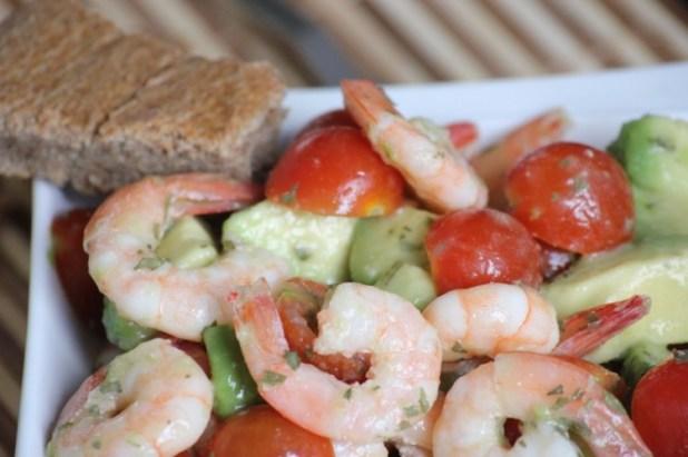 salade d'avocat et crevettes (12)