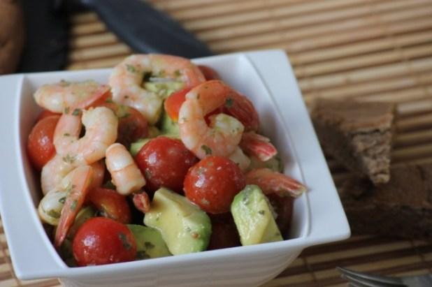 salade d'avocat et crevettes (7)