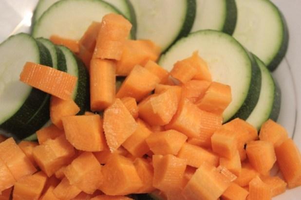 quiche aux légumes