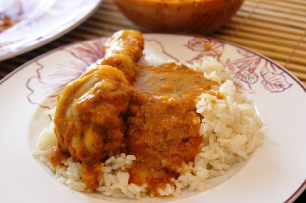 poulet tikka masala