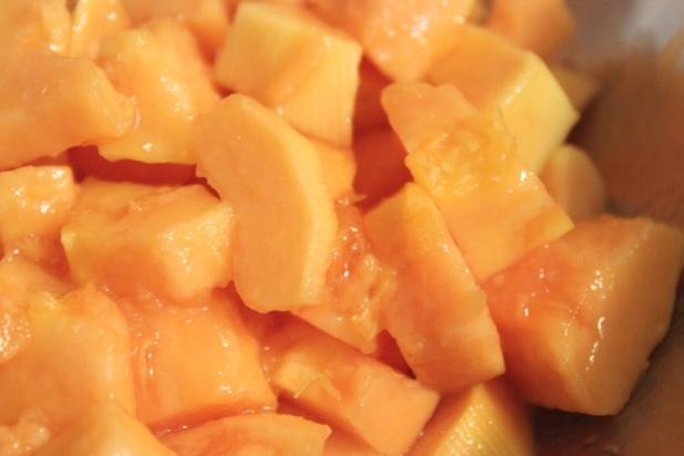 sorbet à la papaye