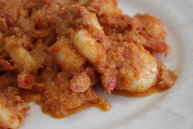 crevettes sautées njansan et huile de coco (10)