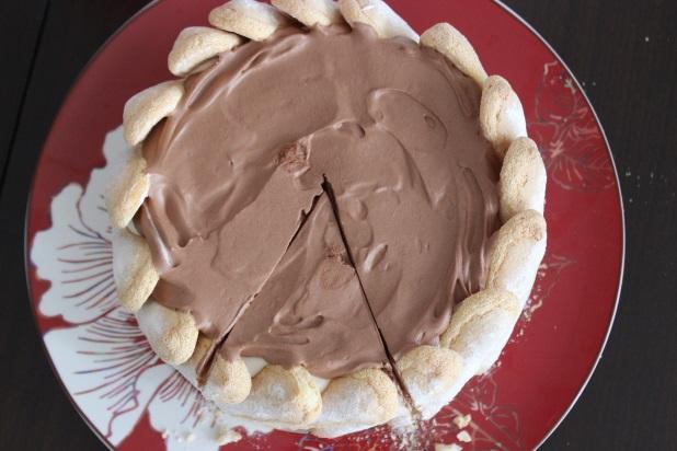 charlotte au 2 chocolats