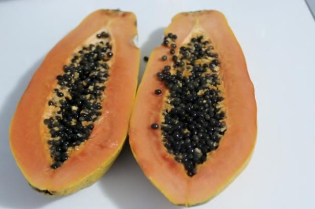 jus de papaye à la citronnelle (1)