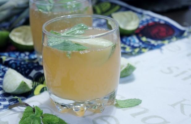 ocktail ananas, gingembre, rhum