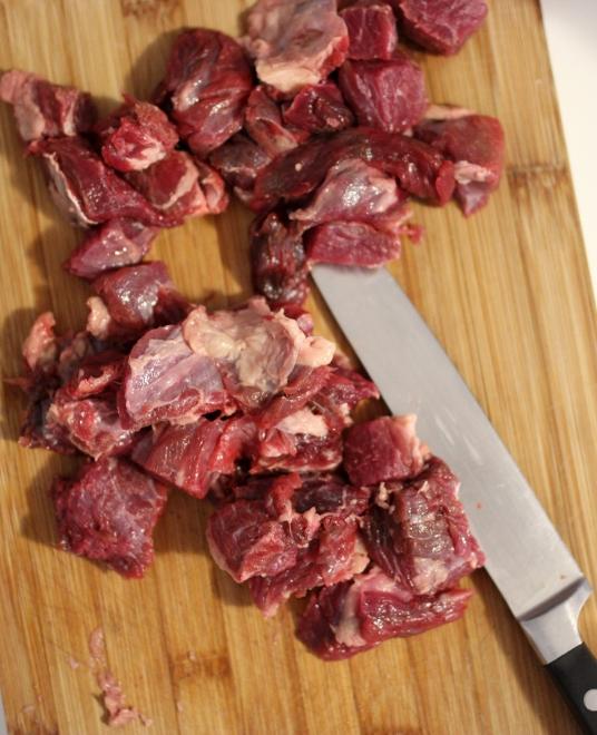 Bœuf à la sauce tomate épicée (2)