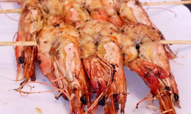crevettes grillées senegal