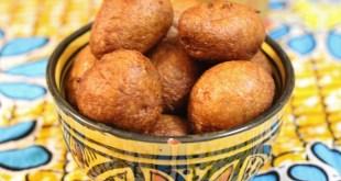 Beignets à la farine complète lait et noix de muscade
