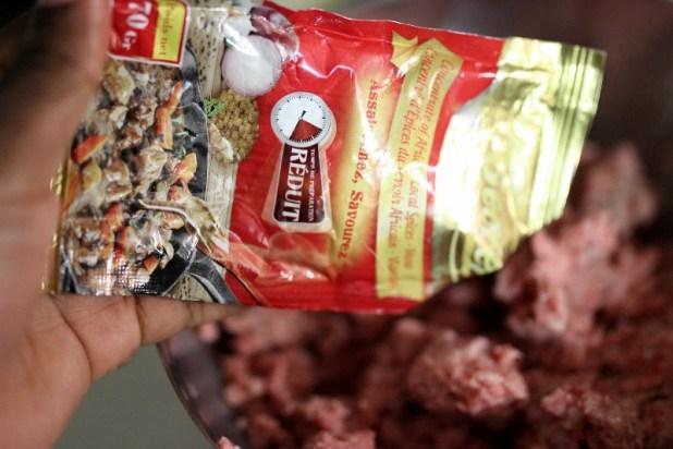 boulettes de boeuf au épices secret