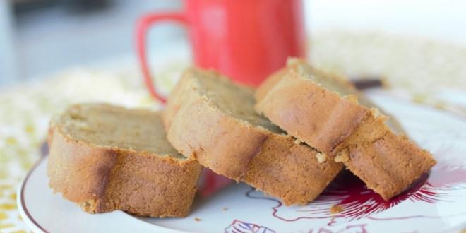 banana bread à l'huile de coco