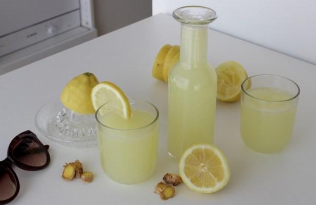 citronnade au gingembre