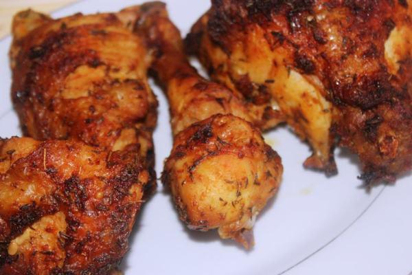 poulet braisé à la nigériane