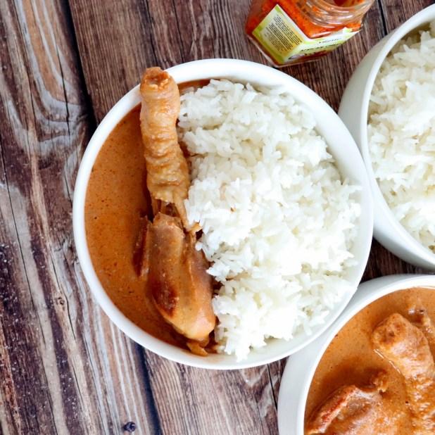 Poulet à la Sauce d'arachides ( « Azindéssi » recette togolaise)