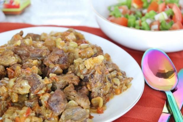ibs sauté de bœuf éthiopien