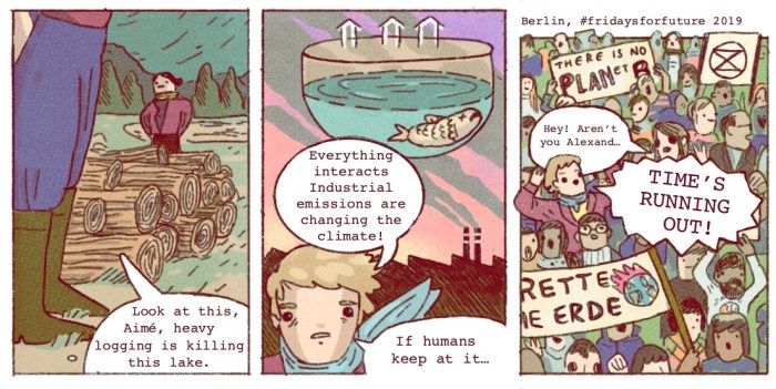 Alexander von Humboldt comic strips