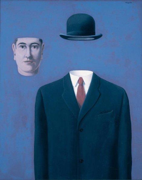 La sindrome dell'apparenza | René Magritte (1898-1967), Il pellegrino, 1966
