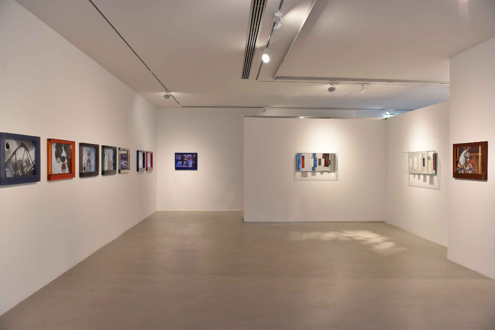 "Chiara Dynys - veduta della mostra ""Broken views"", 2018 - Cortesi Gallery, Lugano"