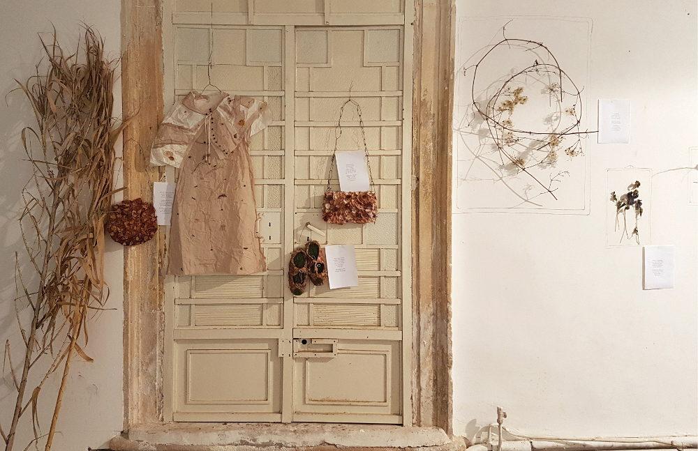 """Elvezia Allari: """"Sfalci e ramaglie"""", 2018 - veduta della mostra"""