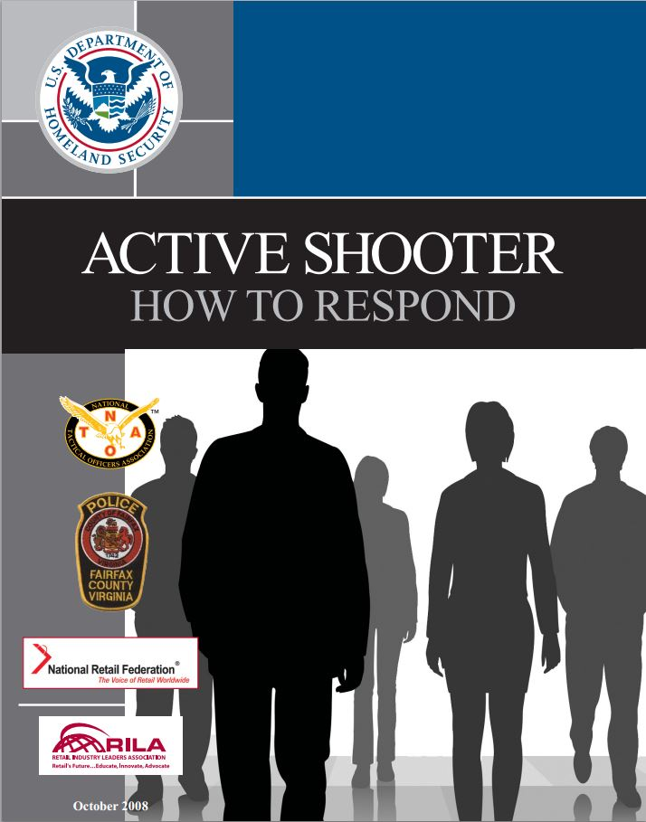 Active Shooter Pocket Card