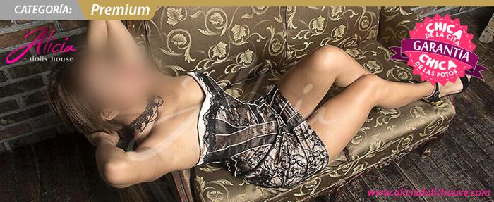 Thaly Escort en Monterrey con piernas hermosas