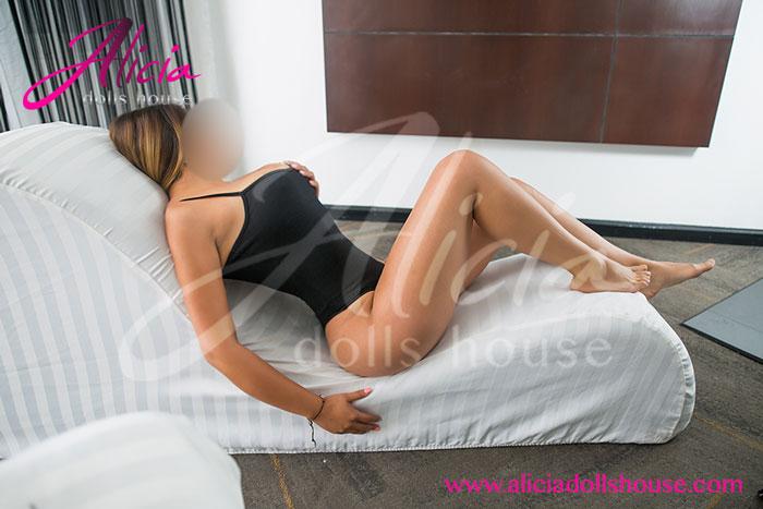 Susana Escort en Monterrey con unas hermosas piernas