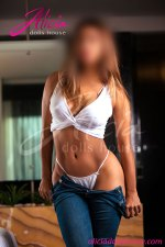 THALY: espectacular chica fitness, total GFE