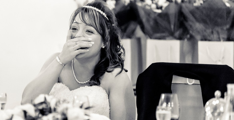 Gloucestershire wedding photographer grooms speech